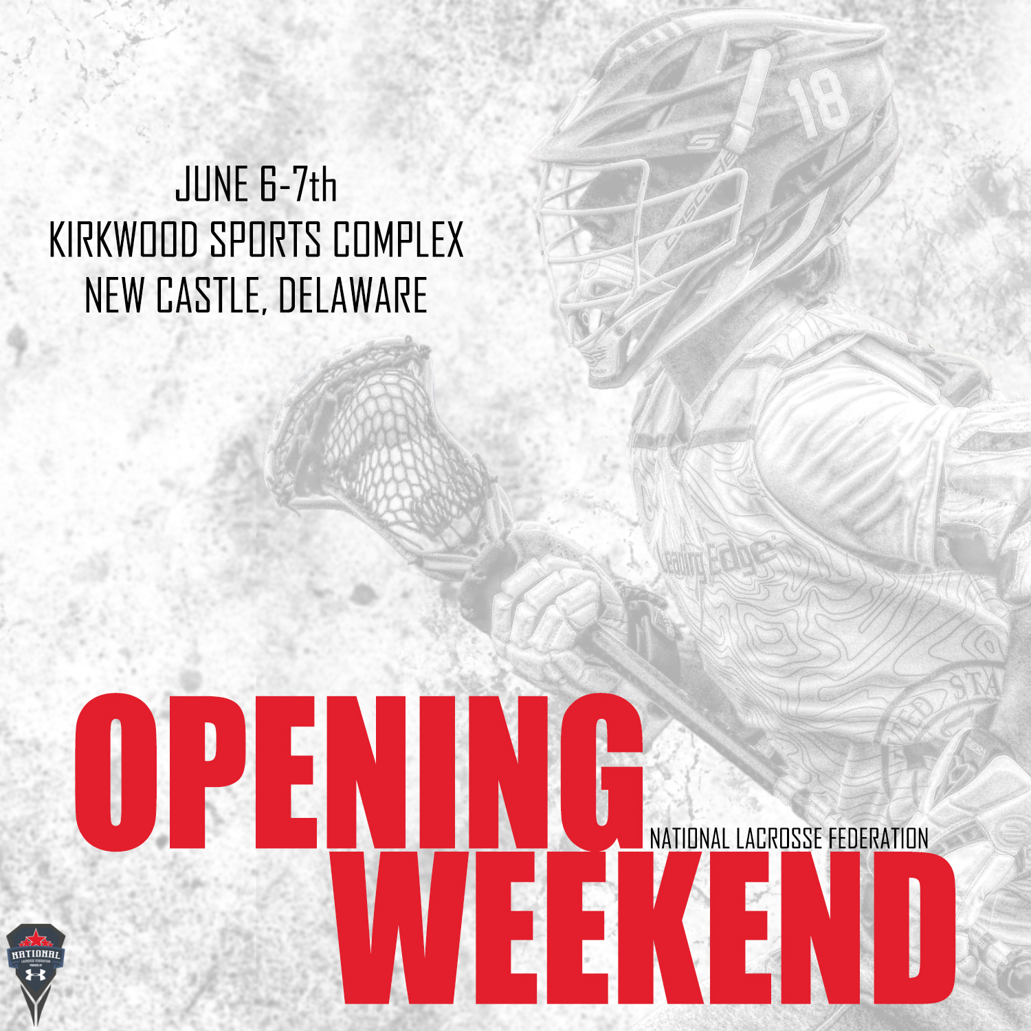 NLF 2020 Opening Weekend Square Graphic